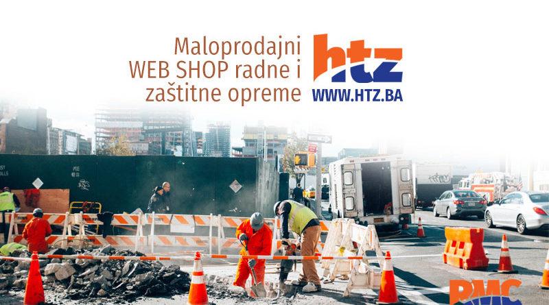 Maloprodajni WEB SHOP radne i zaštitne opreme